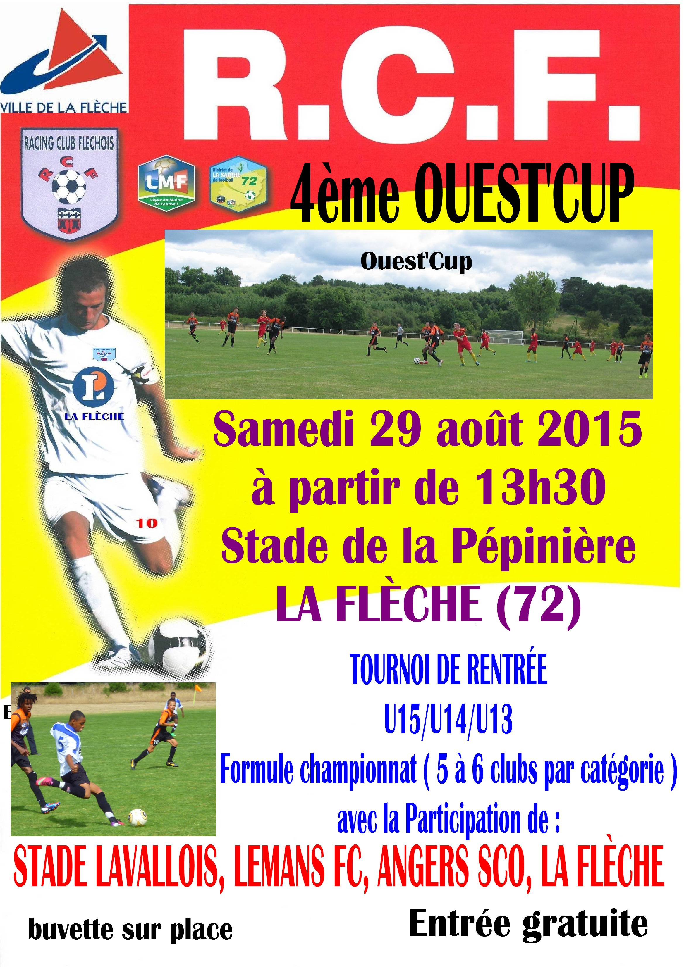 OUEST CUP 2015