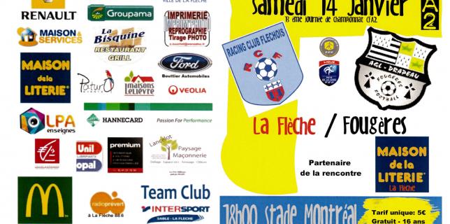 RCF / Fougères : Le programme