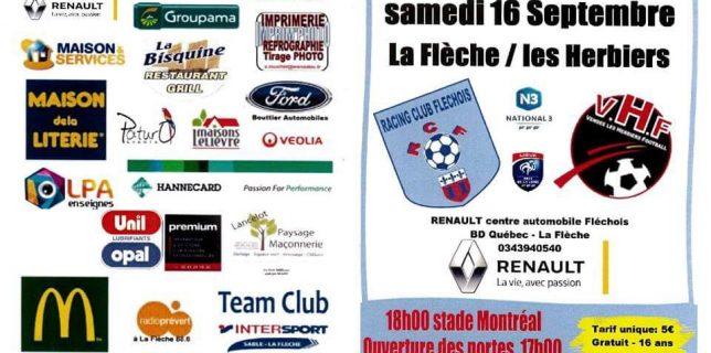 RCF / Les Herbiers : le programme !