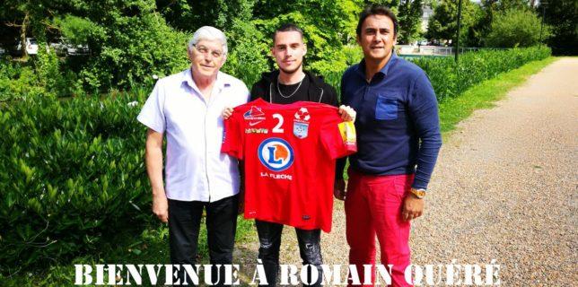 Romain Quéré s'engage au Racing !